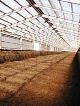 連続発酵堆肥施設