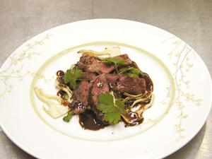 高森牛のステーキ