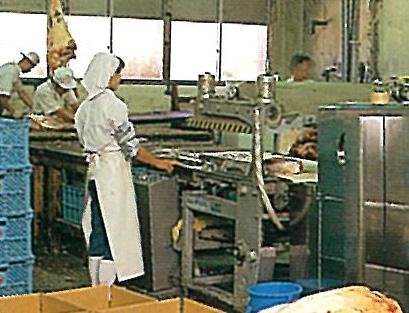 真空シュリンク包装の機械